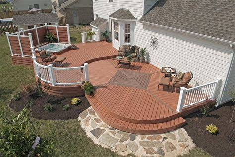 outdoor patio privacy screen ideas decks with tubs the outstanding home deck design