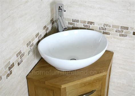 small bathroom corner sink unit 50 corner oak cloakroom vanity unit with basin