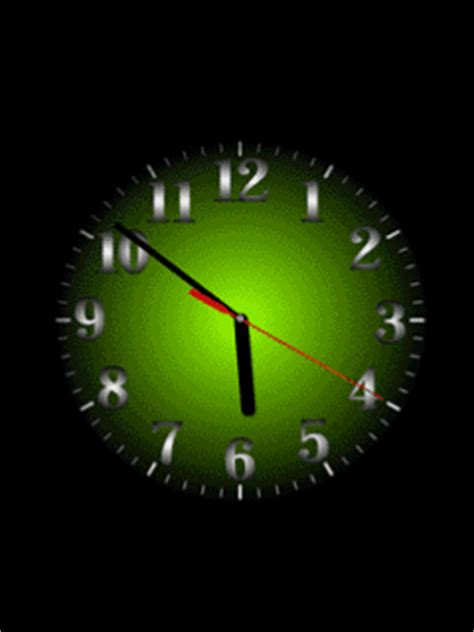 Animated Clock Wallpaper For Samsung Mobile - 240 215 320 gif clock wallpaper