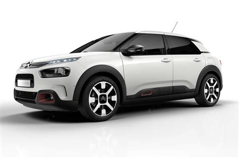 ford crossover black citroen c4 cactus facelifted airbumps out comfier ride