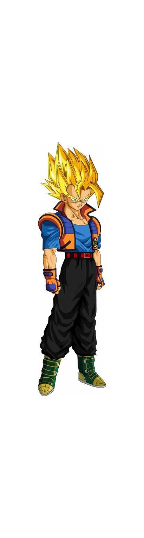 Oc Saiyan Dragon Male Ball Mha Hero