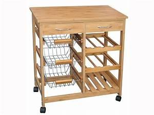 Desserte De Cuisine Conforama : petit meuble de cuisine conforama 5 desserte en bois ~ Dailycaller-alerts.com Idées de Décoration