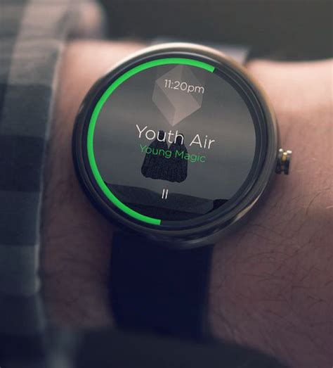 android wear moto 360 android wear moto 360 ui design concept