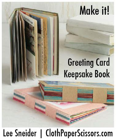 make it greeting card keepsake book diy greeting card