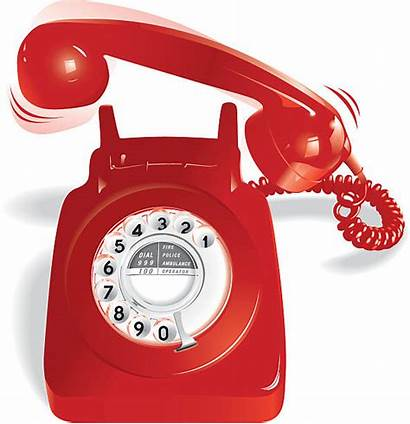 Ringing Telephone Phone Vector Rotary Clip Illustrations
