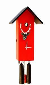 Schwarzwald Kuckucksuhr Modern : moderne kuckucksuhr 8 tage 44cm zeit daheim sl35 h 3 2 ~ Sanjose-hotels-ca.com Haus und Dekorationen