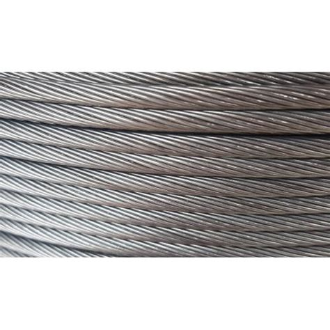 Ocelové lano pro spojení příčných sloupů 5mm, 1x19 | Eshop