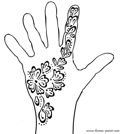 coloring page hand hands love card coloring page
