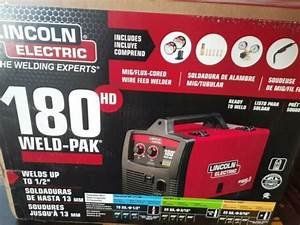 Lincoln Electric 180 Hd Amp Weld Pak Mig Wire Feed Welder
