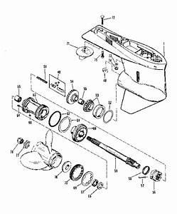 I Have A 1974 Mercury O   1150  115 Hp  6 Cylinder  Reverse