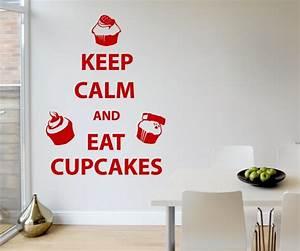 Küche Deko Wand : wandtattoo cupcake geb ck k che deko wand sticker ~ Whattoseeinmadrid.com Haus und Dekorationen