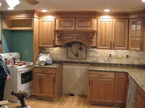 Oak Kitchens Warm Home Design