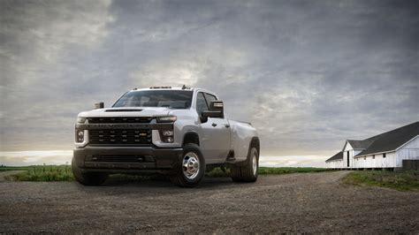 White Truck Wallpaper by 2020 Chevrolet Silverado 3500 Hd Drw Work Truck 4k