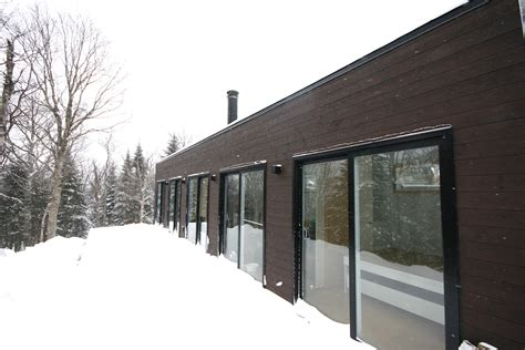 Modern Shipping Container Tiny Home In Quebec