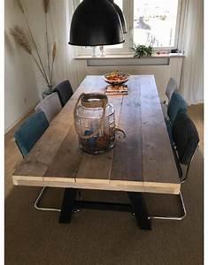 Schiebegardine 300 Cm Lang : eetkamertafel 80 cm breed tot 300 cm lang met houten a poten r de b meubels op maat ~ Markanthonyermac.com Haus und Dekorationen