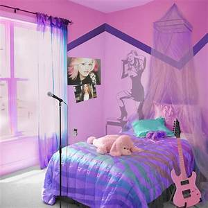7 best images about rock star bedroom on pinterest bed With bed room decoration of girls