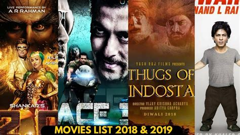 Upcoming Movies List 2018, 19, 20 With Movies Name