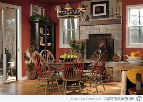 15 rustic dining room designs decoration for house