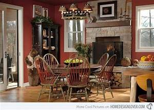 15 rustic dining room designs decoration for house With rustic country dining room ideas