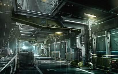 Spaceship Inside Alien Ship Space Interior Wallpapers