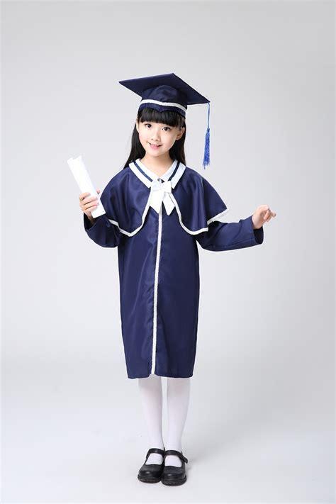 popular graduation caps gowns buy cheap graduation caps 551 | Kindergarten Primary Students Chorus Shawl Kids Academic Dress Girls font b Graduation b font font b