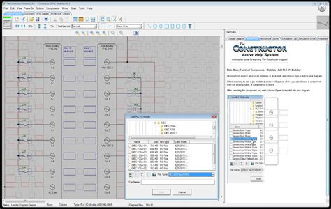 the constructor 13 electrical ladder diagram schematic and plc training simulation software
