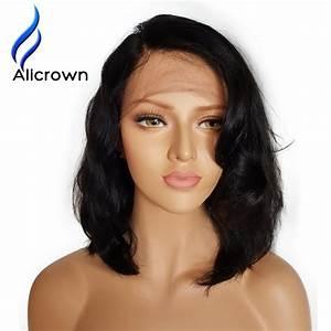 Alicrown Wet Wavy Lace Front Human Hair Wigs Brazilian