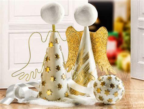 Déco Noel à Fabriquer Navidad Decoraci 243 N 225 Ngel Pasta Fimo Aire Perles Co
