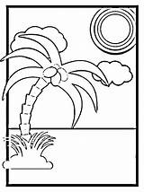 Coconut Drawing Printable Tree Coloring Fun Step Palm Crr Easy Hicks Barbara Jean Getdrawings Unfamiliar Paintingvalley sketch template