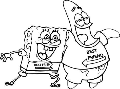 spongebob coloring sheet    thousand images