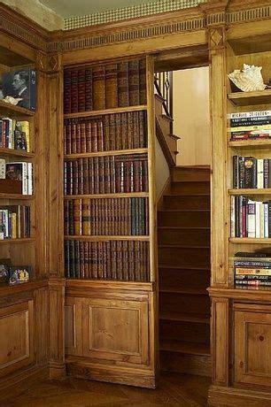 craftsman home office  built  bookshelf czar floors herringbone flooring hardwood floors