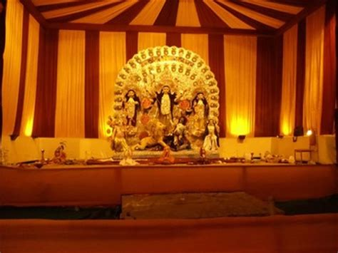 durga puja pandal decoration ideas themes pictures