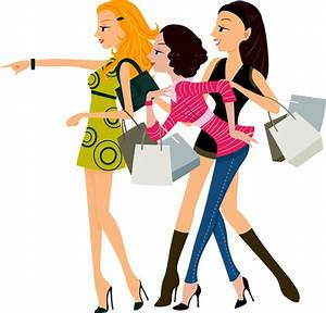 Shopping Vector Woman| Graphic Hive