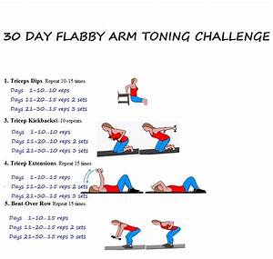 30 Day Arm Challenge Chart Car Tuning