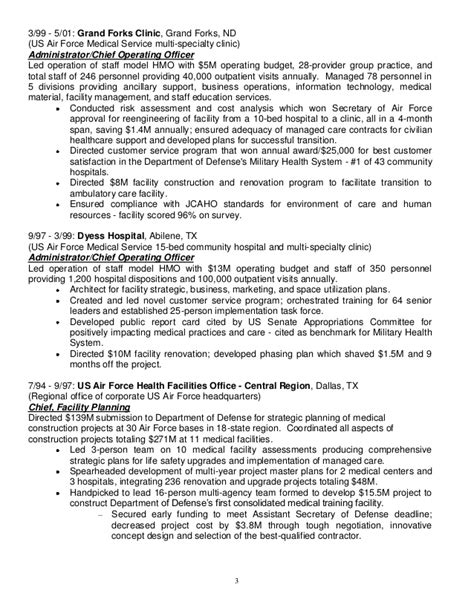 Air Operations Officer Resume resume