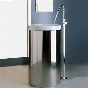 Mitigeur Sur Pied : mitigeur lavabo vasque sur pied x change chrom treemme ~ Edinachiropracticcenter.com Idées de Décoration