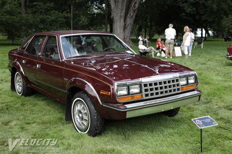 1987 Amc Eagle Sedan Information