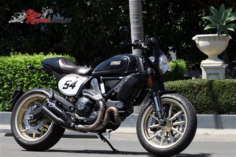 Review Ducati Scrambler Cafe Racer by Review 2018 Ducati Scrambler Cafe Racer Bike Review