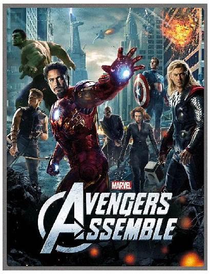 Avengers Lenticular Assemble Marvel Zavvi Blu Ray