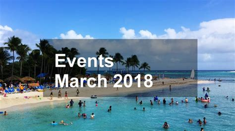 March 2018 Events in Puerto Rico - El Canario Lagoon Hotel