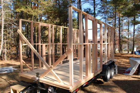 build a house framing my tiny house