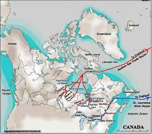 French Fur Trade Route Maps