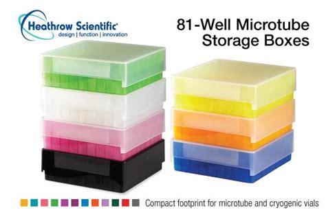 Heathrow Scientific Hs120040 81well Storage Rack