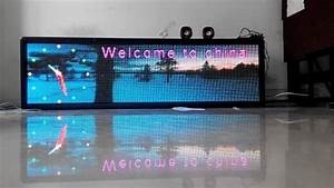 P6 Indoor Lintel Full Color Video Led Sign Board