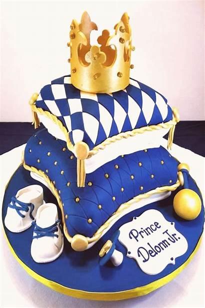 Shower Boy Cake Prince Cakes Boys Royal