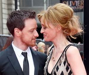 Anne-Marie Duff and James McAvoy the first couple of ...