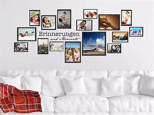 Wandtattoo Mit Bilderrahmen : wandtattoo fotorahmen erinnerungen und momente ~ Bigdaddyawards.com Haus und Dekorationen