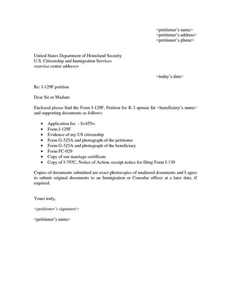 Visa Cover Letter ExampleVisa Application Letter