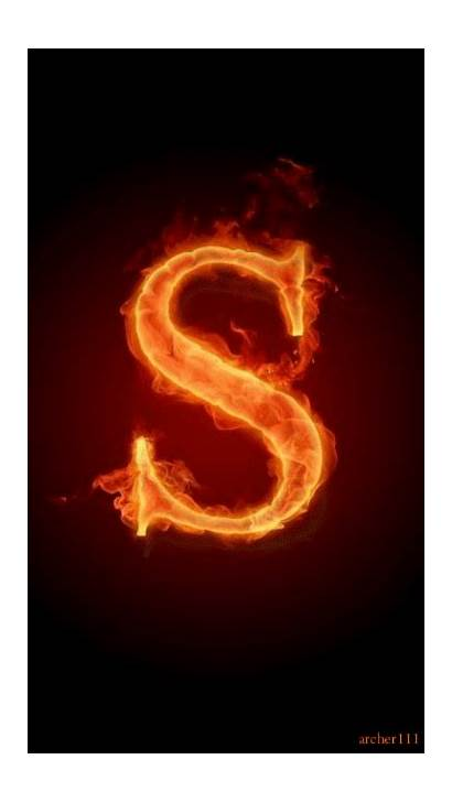 Alphabet Letter Iphone Wallpapers Letters Fire Phoneky