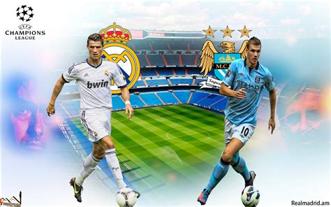 productions real madrid  manchester city